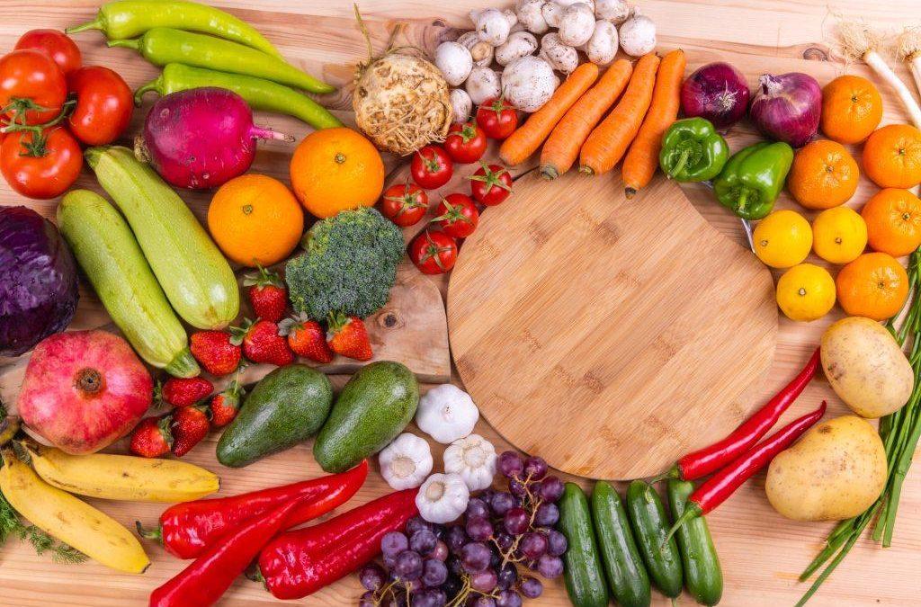 Φρούτα και λαχανικά με συνταγή